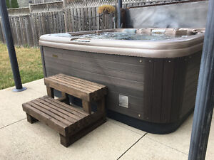 Hot tub steps & hot tub cover lifters