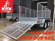 10x5 RAMP BOX TRAILER HOT DIP GALVANISED, 2000 KG ATM Knowsley Bendigo Surrounds Preview