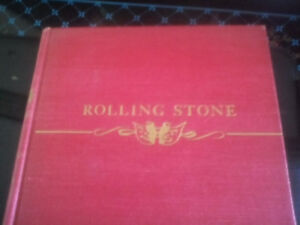 1st edition Rolling Stone hardcover book by Fred Stone