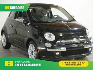 2015 Fiat 500c LOUNGE A/C GR ELECT CUIR MAGS BLUETOOTH