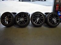 """19"""" M-Performance Alloy Wheels for a F10 and F11 BMW 5 Series"""