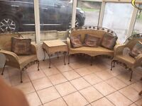 Make me an offer!! Wicker conservatory furniture