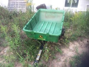 John deer garden bucket attachment
