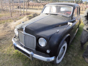 1953 Rover P4 75