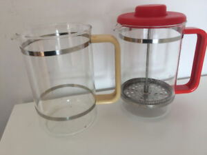 12 CUP BODUM COFFEE PRESS,WITH REPLACEMENT GLASS OPTION