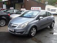 Vauxhall Corsa Breeze 3dr 07/57 1.2cc Petrol Manual Ideal 1st Car MOT Warranty