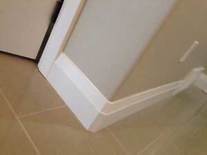 Baseboards and trims installations and Caulking and painting, Al Edmonton Edmonton Area image 1