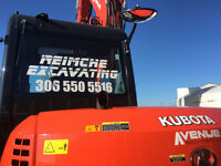 EXCAVATION,DEMOLITION,SEWER,BLUESKIN,SNOW REMOVAL