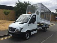 2014 Mercedes-Benz Sprinter 313 CDI Cage Caged Tipper Manual Tipper