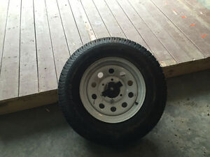 Trailer spare tire 225/75D15 brand new new price