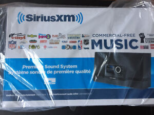 NEW - SiriusXM Home and Car Sound System