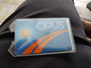 Opus Monthly pass for train bus metro..zone 2
