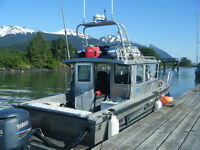 Large 24 foot Modified Hewes Craft