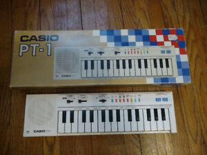 Vintage Casio PT-1 in amazing shape. 1 owner, 30 yrs old.