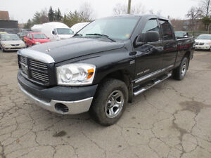 2007 Dodge Ram 1500 ~ 4X4 ~ CHROME WHEELS ~ NO RUST!