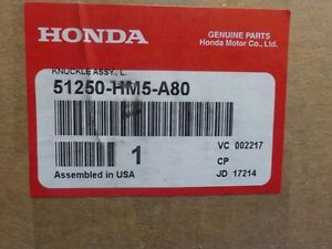 HONDA TRX 300 KNUCKLE ASSY LEFT SIDE ( NEW ) FITS FROM 1996-00