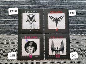 Enigma Vinyl Limited Edition Rare Coloured E, V, VI, VIII
