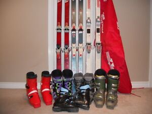 SKIS AND BOOTS $50 each item