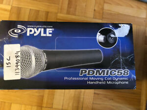 Pyle microphone+ pyle wireless microphone