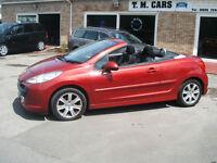 2009 09 Peugeot 207 CC 1.6Hdi Convertible **New MOT**