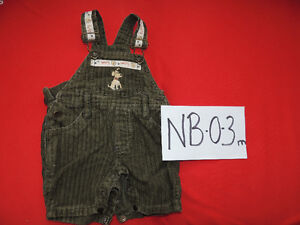 Good brand boy overalls. Sizes 0-24 months.$ 4