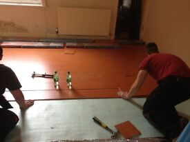 Laminate floor fitting in Greater Manchester