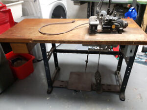 Vintage Singer 246-5 Overlock Industrial Sewing Machine