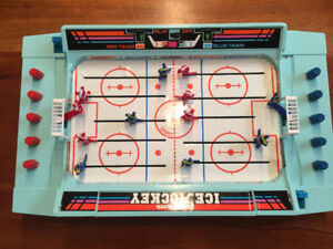 Radio shack battery operated table hockey game