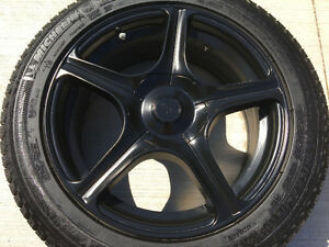 Michelin X-Ice Xi3 Tires 225/50R17 on Rims 5-100.00/114.30 TPMS
