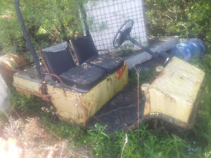 Three wheel electric cart for parts or rebuild