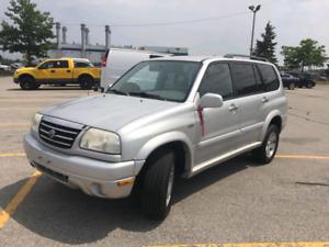 2002 Suzuki XL7 4WD, 200,000 km Only