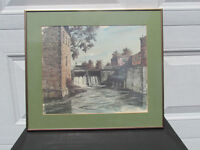 3 Rideau Canal prints by Ben Babelowsky