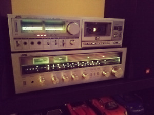 Vintage mint* JVC stereo duo