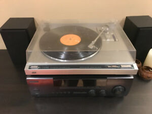 JVC autoreturn turntable