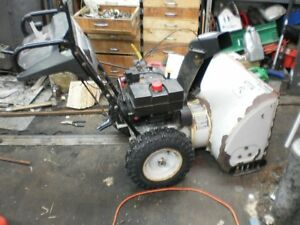 White 8HP/26 Inch Path, Electric Start Snowblower