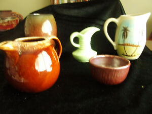 Pottery ware collection.