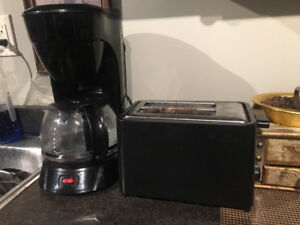 ONLINE MOVING SALE a toaster and a coffee maker
