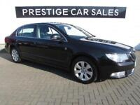 2013 Skoda Superb 1.6 TDI GreenLine CR SE 5dr Diesel black Manual