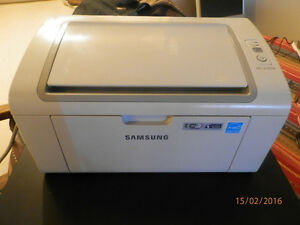 SAMSUNG Laser wirless printer ( WIFI) Model (ML-2165W)