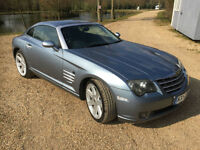 2003 Chrysler Crossfire 3.2 Petrol Auto Coupe Blue Full Service History