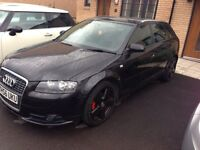 Audi A3 sportback tdi s line with Bose and half leather