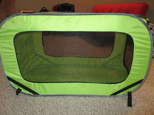 FOR SALE - SOFT CRATE/OUTDOOR PET TENT