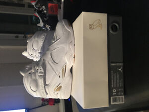 Ovo 8 size 10 white DS with receipt