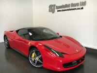 2012 Ferrari 458 4.5 italia DCT **17K Full History** Great spec RHD
