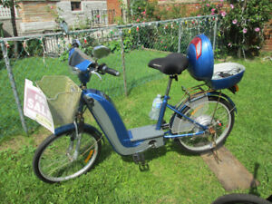 ELECTRIC BIKE WITH NEW REMOVABLE BATTERIES