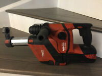 HILTI CORDLESS HAMMER DRILL TE6A WITH DRS (Dust Removal System)