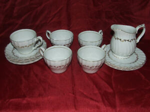 Early mid-century (1940s) Myott St. Regis cups and saucers