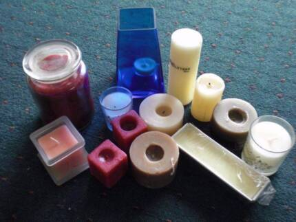Candle collection - new and used Cottesloe Cottesloe Area Preview