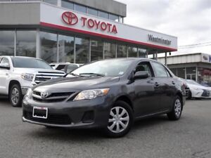 2013 Toyota Corolla CE Moonroof Package
