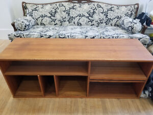 mid century dining coffee entertainment unit and end table